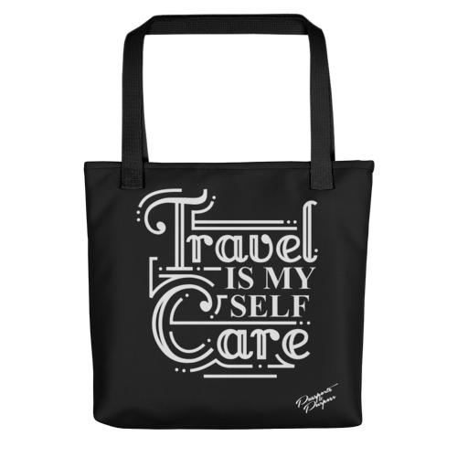 Travel is My Self Care - Tote Bag