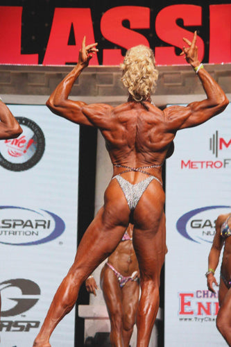 Fully Stoned Premier Women's Physique  Suit