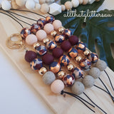 'Get Speckled' Plum Earthy handmade clay polymer jewellery accessories