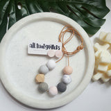 'Earthy Days' Adults Necklace handmade clay polymer jewellery accessories