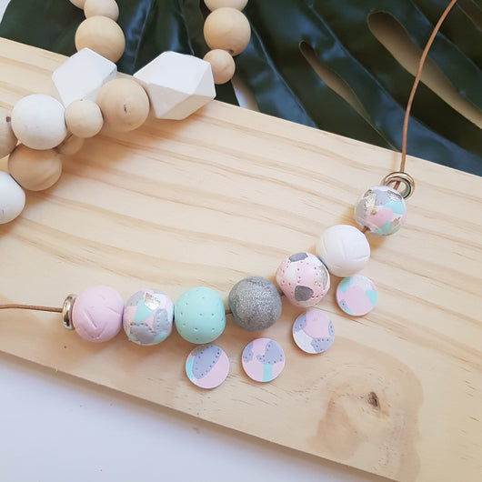 'Get Speckled' Pastels Range handmade clay polymer jewellery accessories