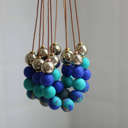 Ocean Inspired Collection | All That Glitters Au handmade clay polymer jewellery accessories