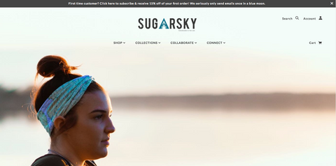 SugarSky Website