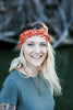 Burnt Orange Campfires Headband