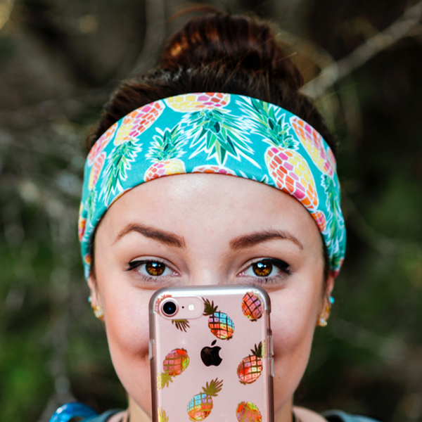 Electric Pineapple Headband