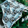 Mint Green Aztec Attack Bandana
