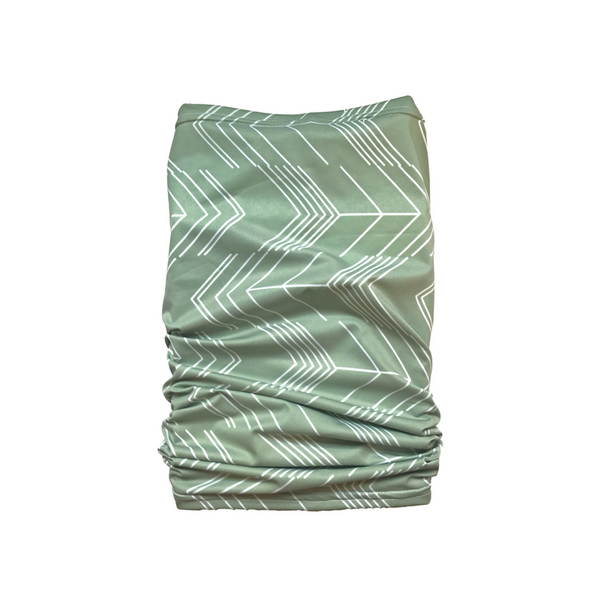 Abstract Arrows - Sage Green Tube