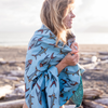 Forever Fish / Topographical Blanket Towel