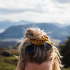 Golden Roots Scrunchie