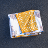 Golden Roots / Vintage Flower Power Blanket Towel