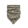 Luscious Leaves - Peach & Teal Bandana