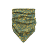 Luscious Leaves - Teal & Golden Bandana
