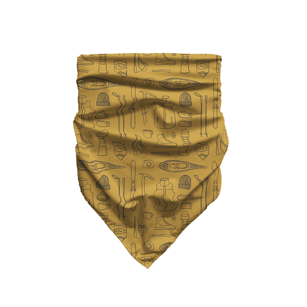Winter Camping Essentials - Golden Bandana