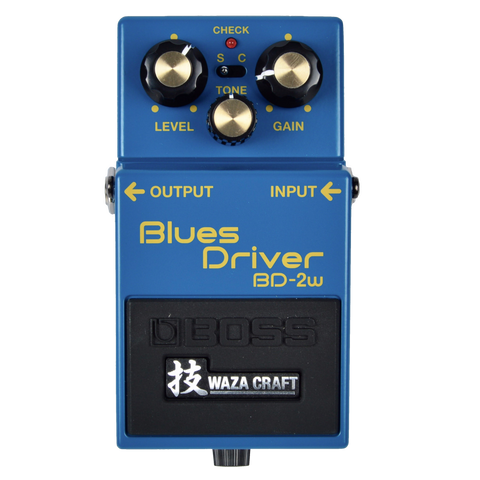 Boss BD-2w Blues Driver WazaCraft