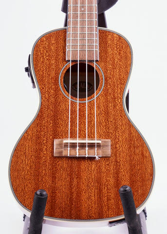 Kala KA-CGE Gloss Mahogany Concert, with Pickup