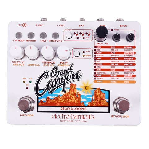 Electro-Harmonix Grand Canyon Delay