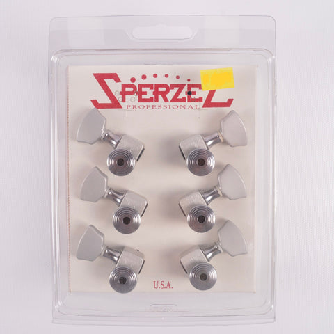 Sperzel Locking Tuners, 3+3 Brushed Chrome