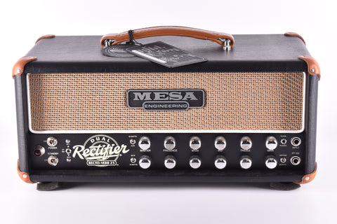 Mesa Boogie Rectoverb 25 Head, Black with Tan Grille