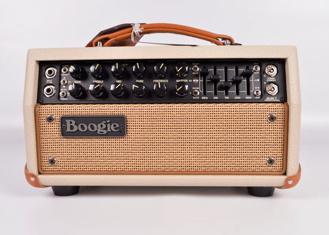 Mesa Boogie Mark V:25 Head, Cream Bronco with Tan Grille