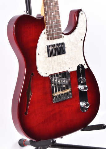 G&L Tribute ASAT Bluesboy Semi-Hollow, Red Burst