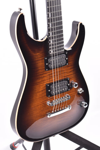 ESP E-II Horizon NT, Dark Brown Sunburst