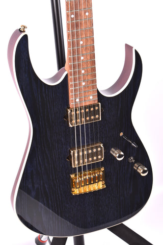 Ibanez RG421HPAH, Blue Wave Black