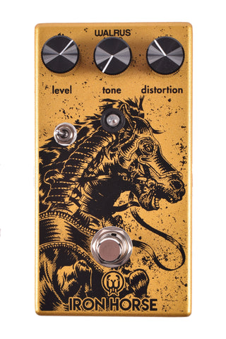 Walrus Audio Iron Horse LM308 Distortion v.2