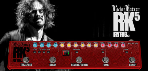Tech 21 NYC Richie Kotzen RK5 FlyRig Version 2