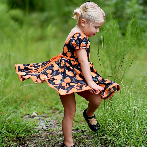 PREORDER Market Dress - Pumpkin Patch