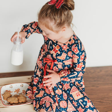 Girl's Lounge Gown in COOKIES