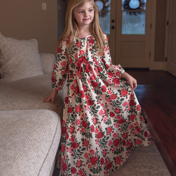 Home for the Holidays Long Gown