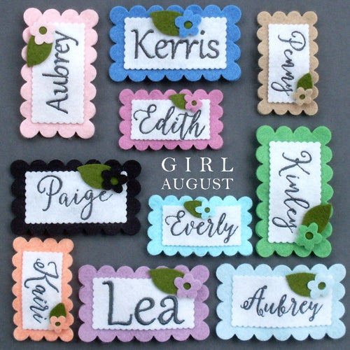Name Clip - Set of 3