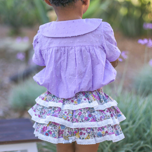 Lavender Floral Play Set