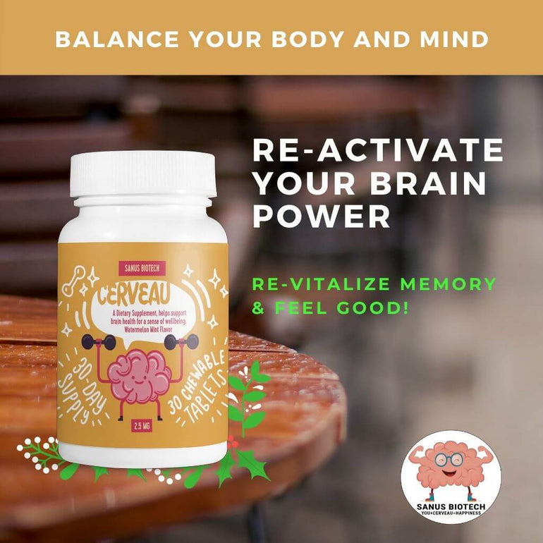 Brain booster tablets