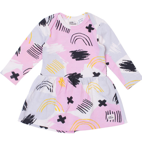 milk-masuki-long-sleeve-bodysuit-dress