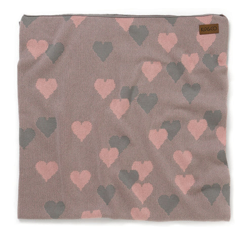 Kip & Co - Lover Pink Baby Blanket