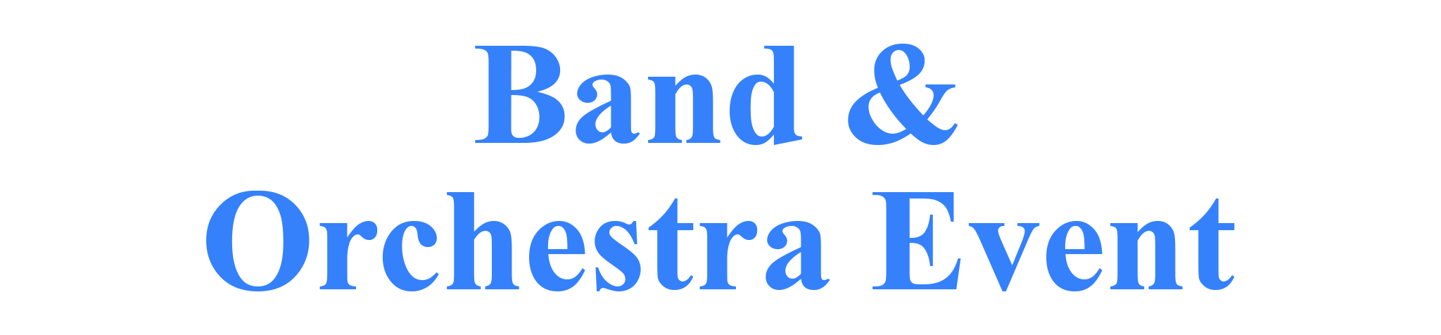 Andy's Music Band & Orchestra Rental Plan Program Virtual Event