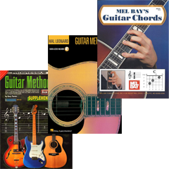 Guitar Method Books Hal Leonard Mel Bay Progressive Chords Tabs