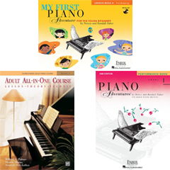 Piano Method Faber Alfred Adventures Adult Beginner
