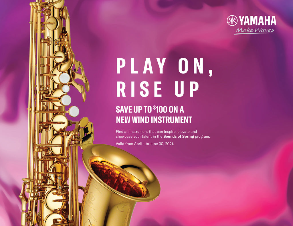 Step Up to Yamaha 2021 Sounds of Spring Rebate