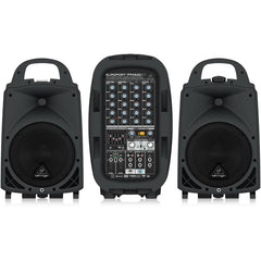 PA Packages Powered Mixer w Passive Speakers