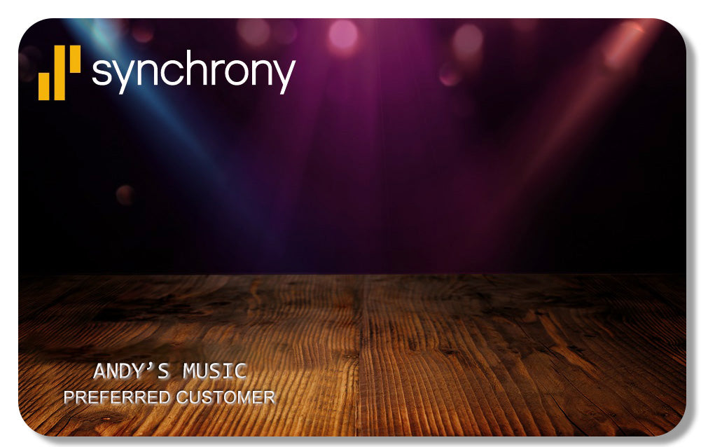 Synchrony Financing at Andy's Music