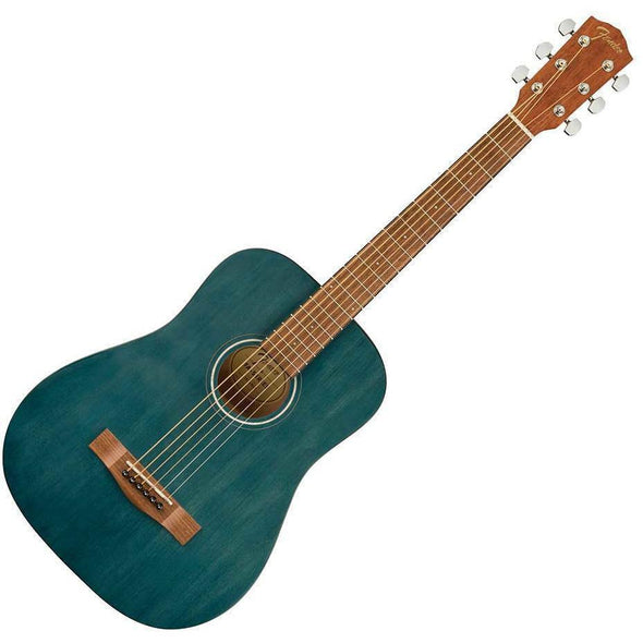 Fender FA-15 3/4 Size Acoustic Guitar With Bag-Blue-Andy's Music