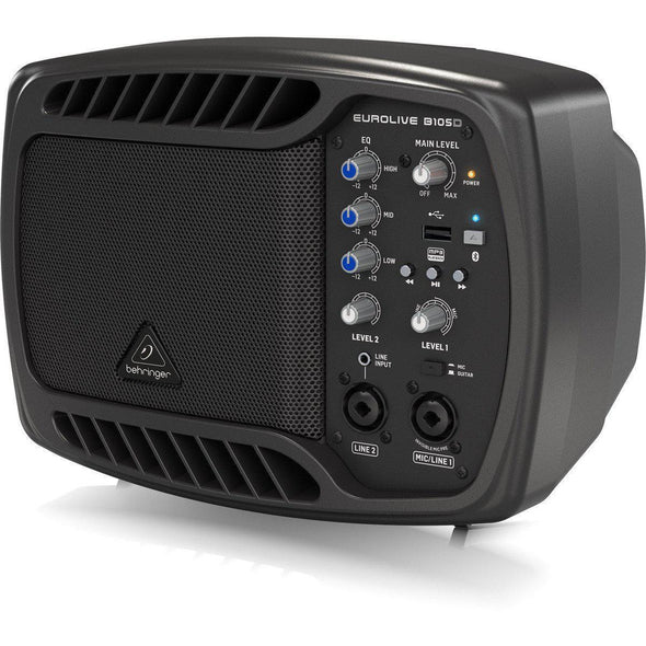 Behringer B105D Portable Bluetooth Powered Speaker - Andy's Music