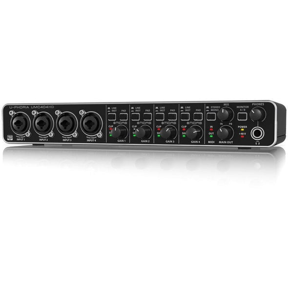 Behringer UMC404HD Audio/MIDI Interface - Andy's Music