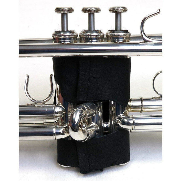 Bach Black Leather Trumpet Valve Guard-Andy's Music