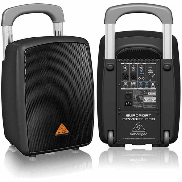 Behringer MPA40BT-PRO All-In-One Bluetooth PA System - Andy's Music
