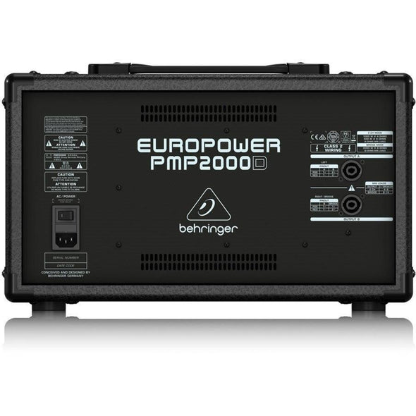 Behringer EUROPOWER PMP2000D Stereo Powered Mixer - Andy's Music