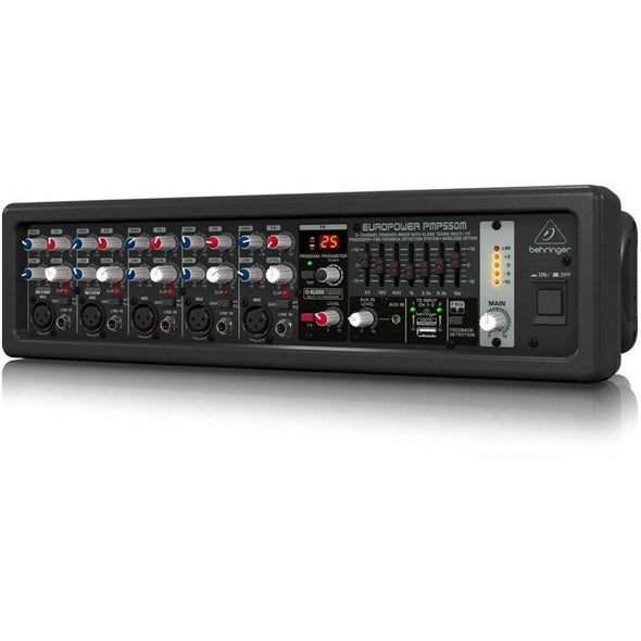 Behringer EUROPOWER PMP550M 500 Watt Powered Mixer - Andy's Music