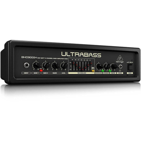 Behringer BXD3000H 300-Watt Bass Amp Head - Andy's Music